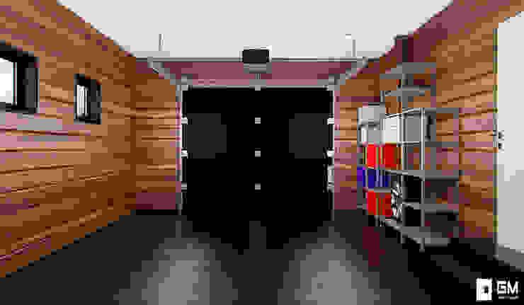GM-interior Garage/Rimessa in stile scandinavo
