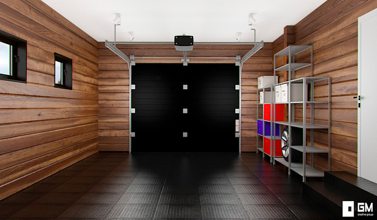 Garage/shed by GM-interior, Scandinavian