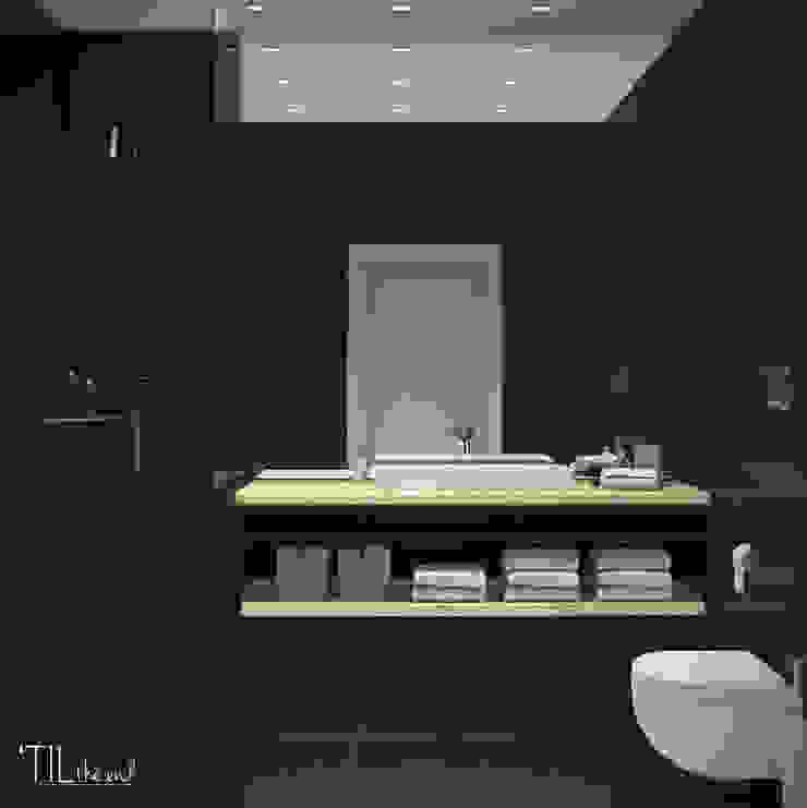 Bathroom 2 Casas de banho modernas por Lagom studio Moderno Azulejo
