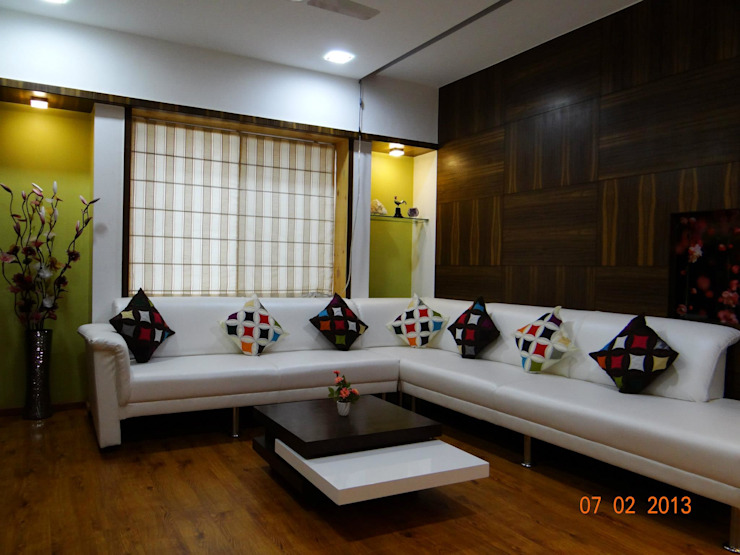 Apartment Modern living room by ANCIENT INTERIO Modern