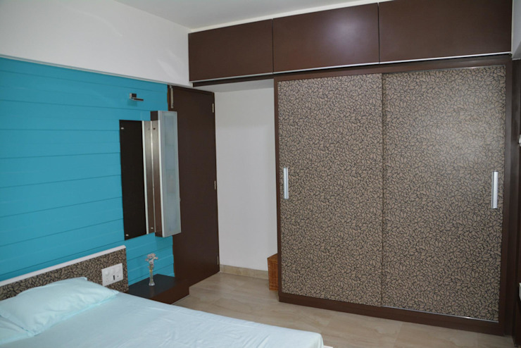 Apartment Modern style bedroom by ANCIENT INTERIO Modern