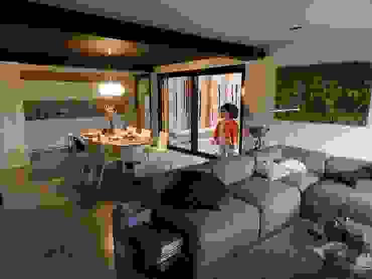 โดย FAVRE LIBES Architectes โมเดิร์น
