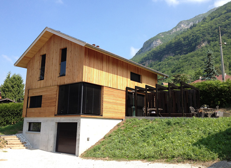 FAVRE LIBES Architectes의  주택
