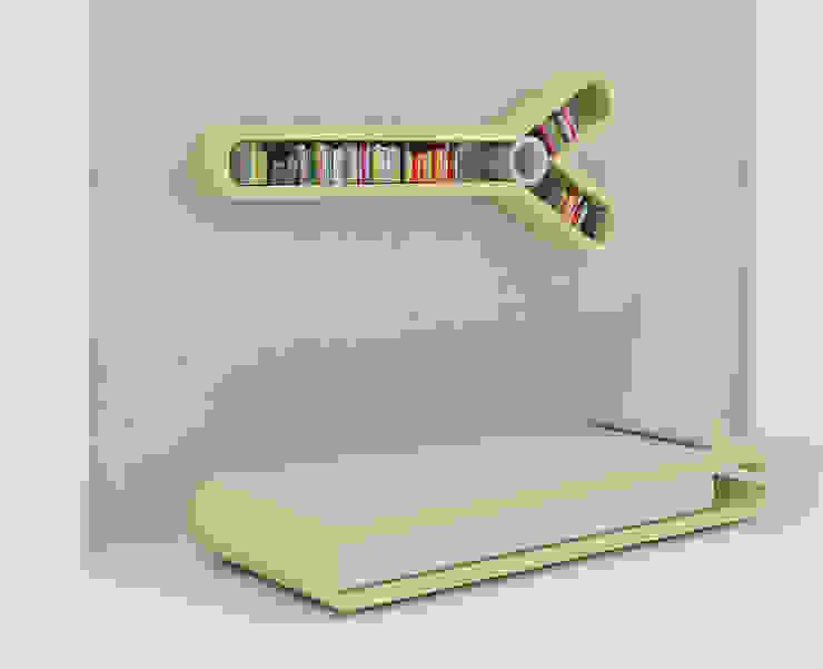 Nailcutter couch - Sky blue: modern  by Preetham  Interior Designer,Modern