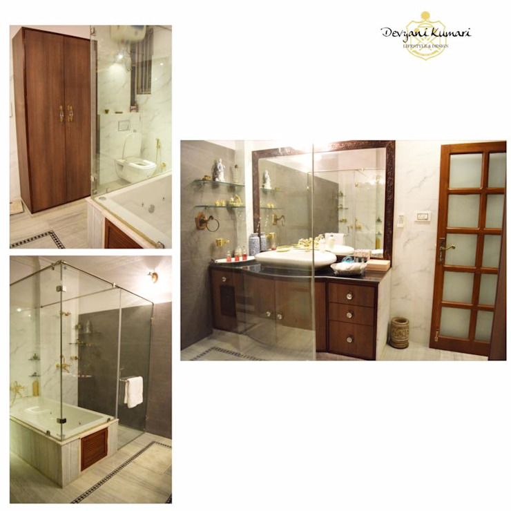 Interior Modern bathroom by Devyani Kumari Lifestyle & Designs Modern