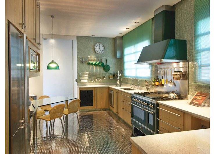Elisabete Primati Arquitetura Moderne keukens