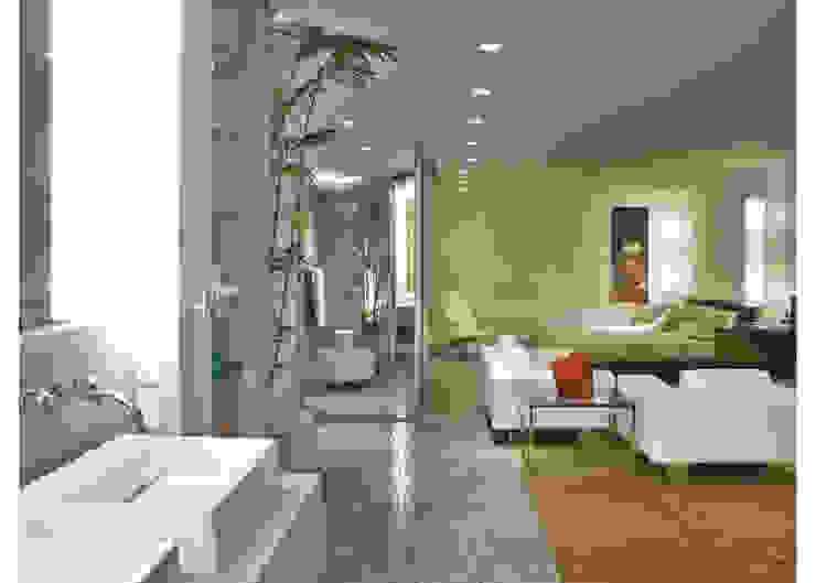 Elisabete Primati Arquitetura Phòng ngủ phong cách hiện đại