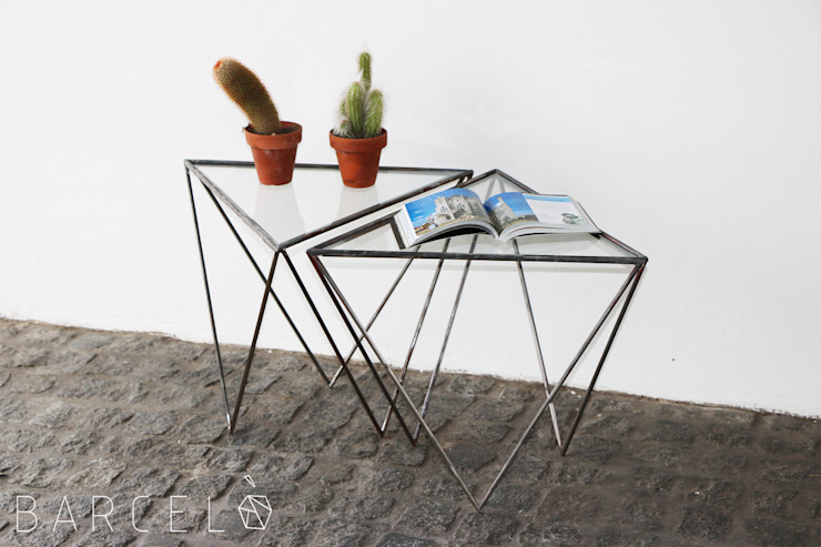 Barcelò. diseño en hierro Living roomSide tables & trays Iron/Steel