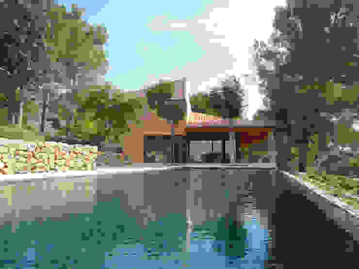 Casa Paddenberg Piscinas de estilo moderno de miguelfloritarquitectura sl Moderno