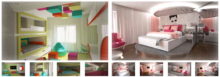 Arquitectura de interiores apartamento, Praça de Espanha, Portugal Quartos de criança clássicos por Sara Santos Arquitecta Clássico