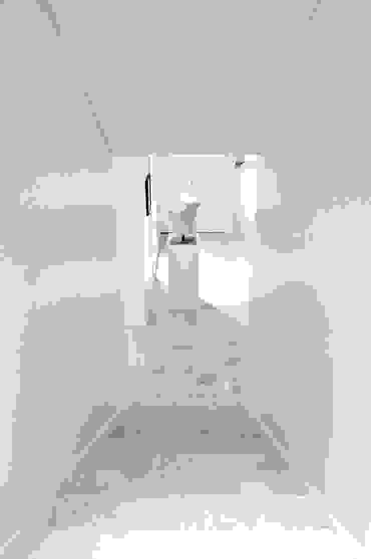 CASA EN SAN ISIDRO Pasillos, vestíbulos y escaleras modernos de Arq. PAULA de ELIA & Asociados Moderno