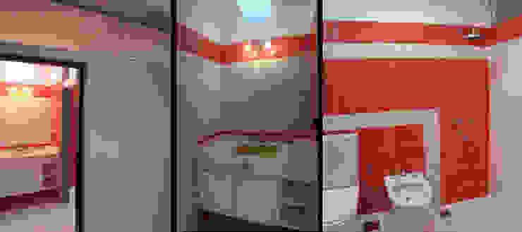 Casa TSI 1 Baños modernos de ELVARQUITECTOS Moderno