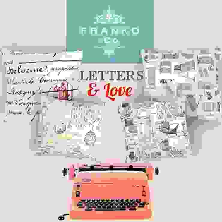 Cojines Letters de Franko & Co. Clásico