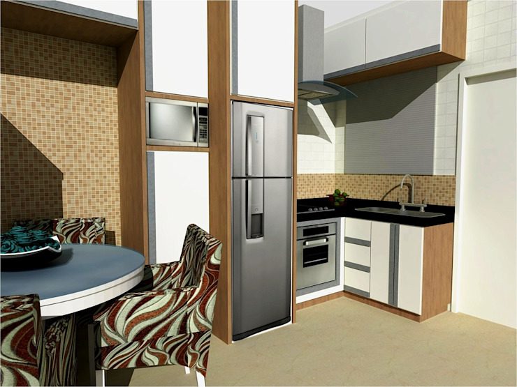 by Nádia Catarino - Arquitetura e Design de Interiores Classic Wood Wood effect