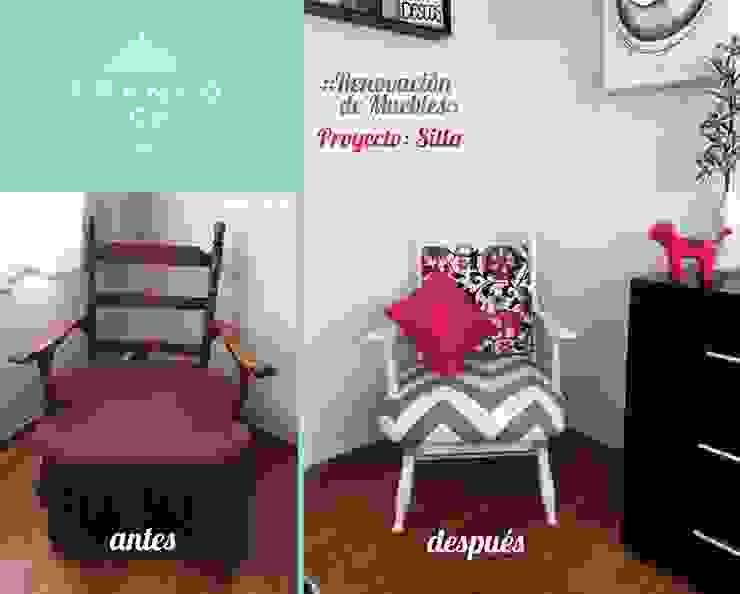 Mecedora vintage Dormitorios modernos de Franko & Co. Moderno