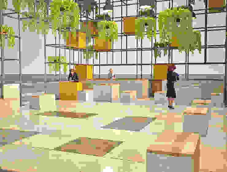 Interior architecture Pil Tasarım Mimarlik + Peyzaj Mimarligi + Ic Mimarlik Modern houses Iron/Steel Green