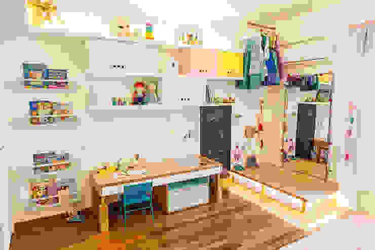 Nowoczesny pokój dziecięcy od Hana Lerner Arquitetura Nowoczesny