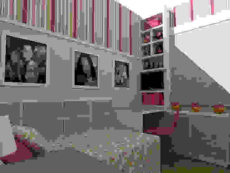 Dormitório Menina LA Quarto infantil clássico por Nádia Catarino - Arquitetura e Design de Interiores Clássico Madeira Efeito de madeira