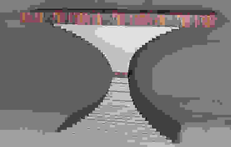 Mobiliário para o Hall de entrada Furniture for the lobby por Intense mobiliário e interiores; Moderno