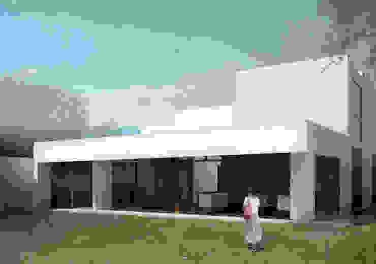 RESIDENCIA CUMBRES Casas minimalistas de TAQ arquitectura Minimalista Vidrio