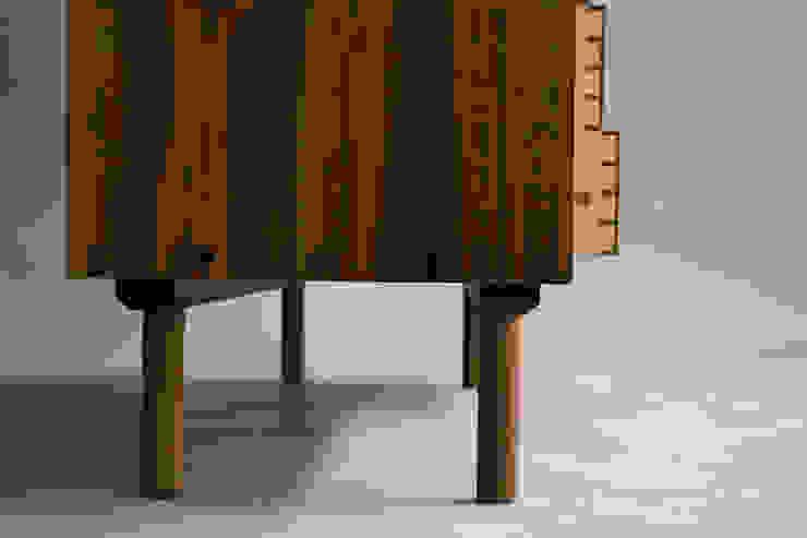 월넛 그릇장 Credenza: 데이너퍼니쳐의 현대 ,모던