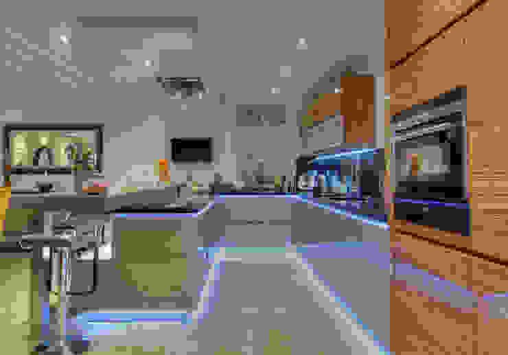 Villa d exception Cuisine moderne par LUSIARTE Moderne