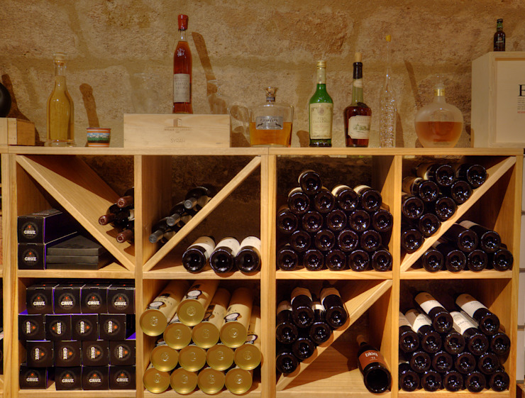 Cave Cave à vin moderne par LUSIARTE Moderne