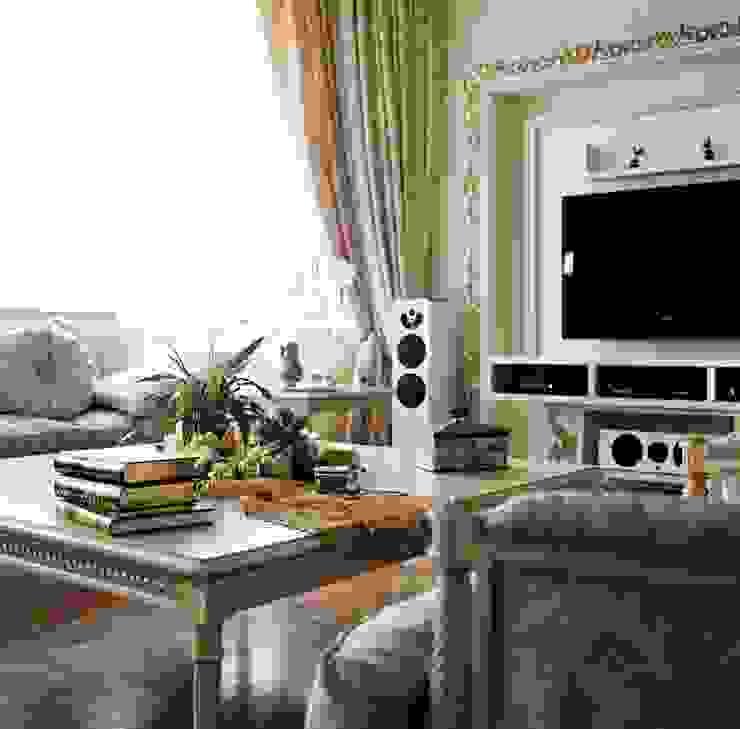 Ruang Keluarga Klasik Oleh Архитектор Татьяна Стащук Klasik