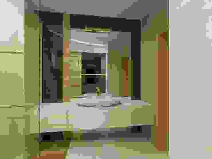 Projekt łazienki Nowoczesna łazienka od Bohema Design Nowoczesny