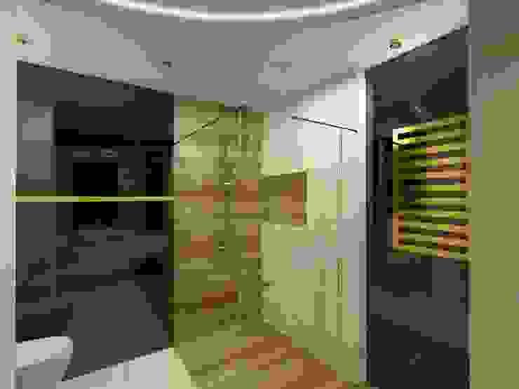 Wnętrze łazienki Nowoczesna łazienka od Bohema Design Nowoczesny