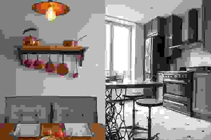 Mobilier pour cuisine par STUDIO SANDRA HELLMANN Moderne Métal