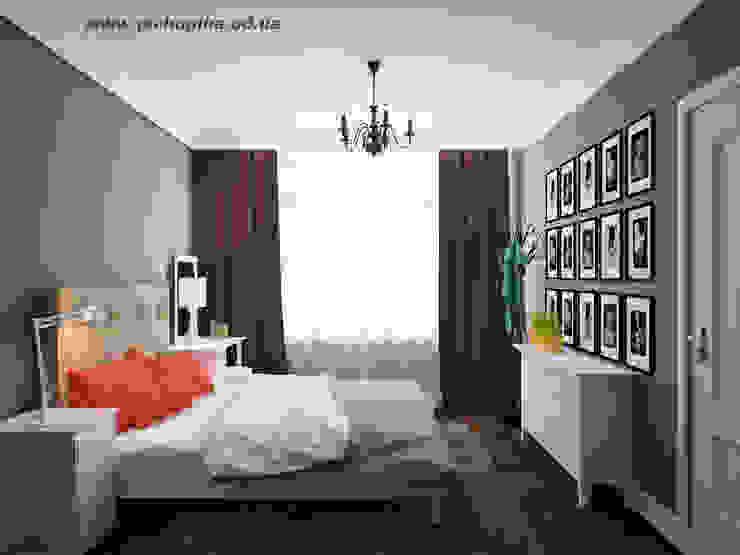 에클레틱 침실 by Tatyana Pichugina Design 에클레틱 (Eclectic)
