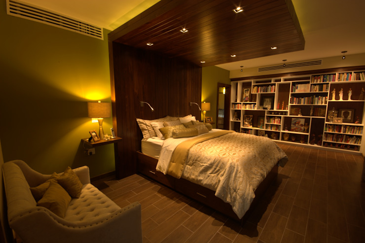 Eclectic style bedroom by Lo Interior Eclectic