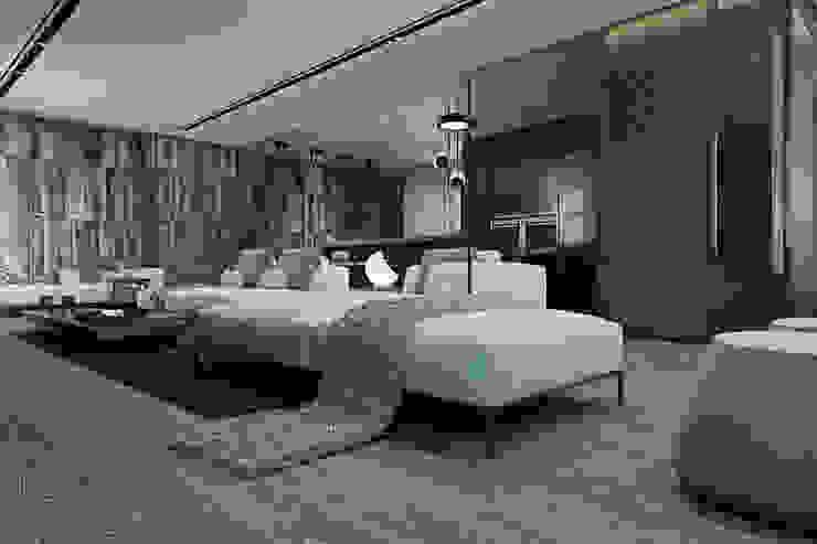 Cozy flat in Kiev centre: Гостиная в . Автор – Diff.Studio,