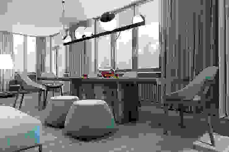 Cozy flat in Kiev centre Столовая комната в стиле минимализм от Diff.Studio Минимализм