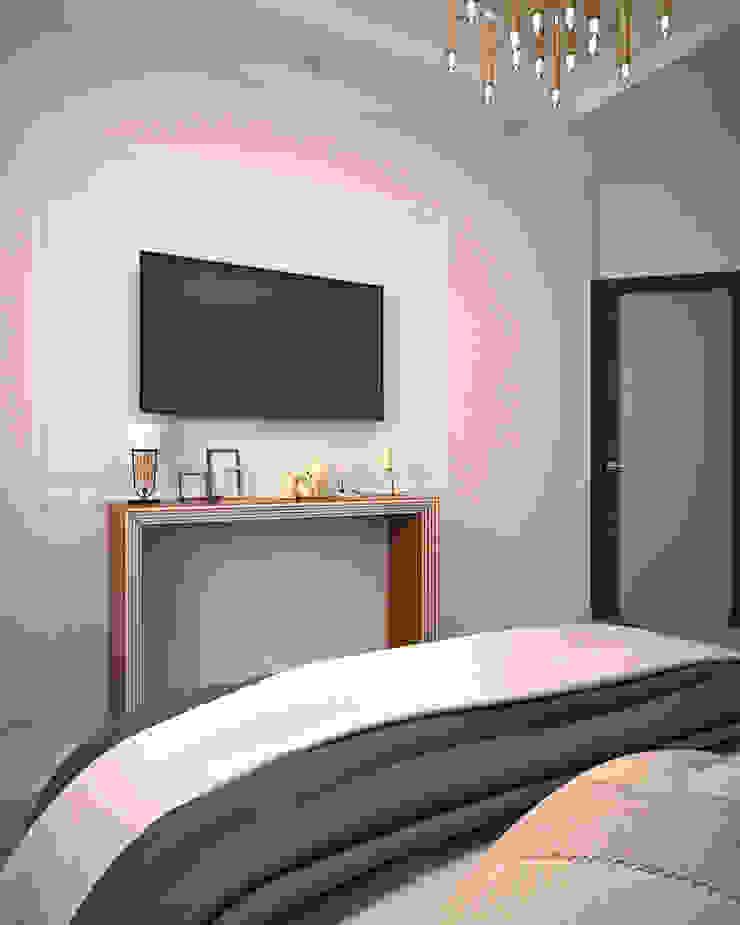 Жилое пространство Спальня в эклектичном стиле от BMM Эклектичный