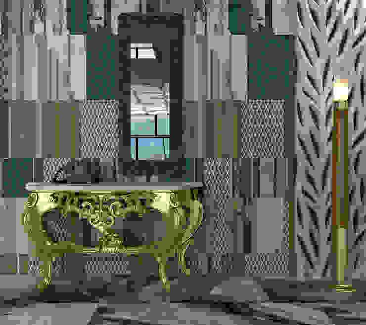 Apartment Коридор, прихожая и лестница в эклектичном стиле от BMM Эклектичный