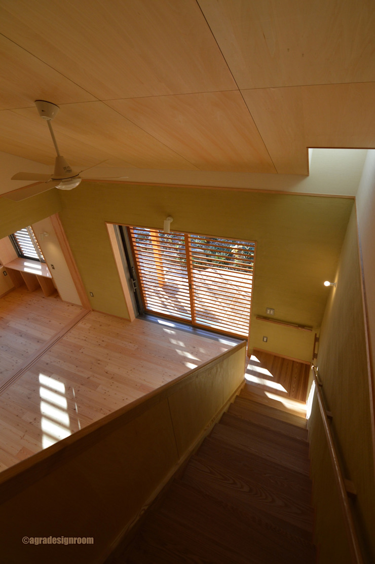 アグラ設計室一級建築士事務所 agra design room 现代客厅設計點子、靈感 & 圖片