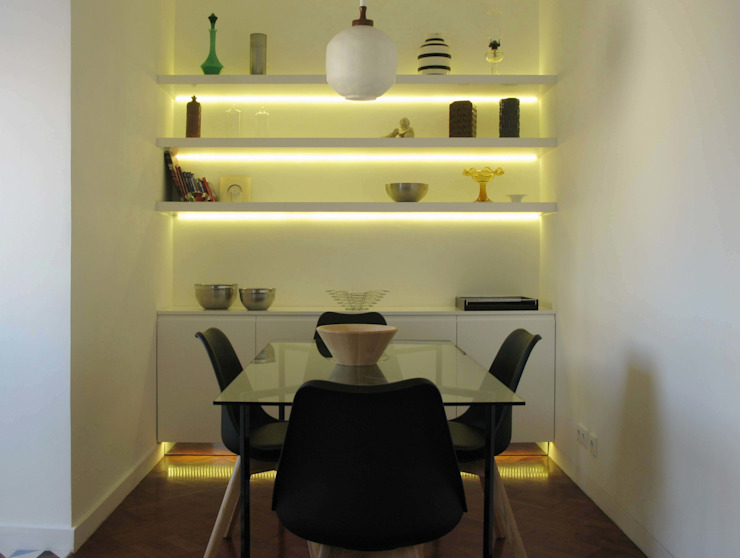 Mosque Apartment Cozinhas modernas por Palma Rato + Partners Moderno