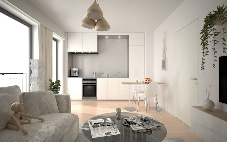 wizualizacja mieszkania - POZNAŃ od renderPLAN