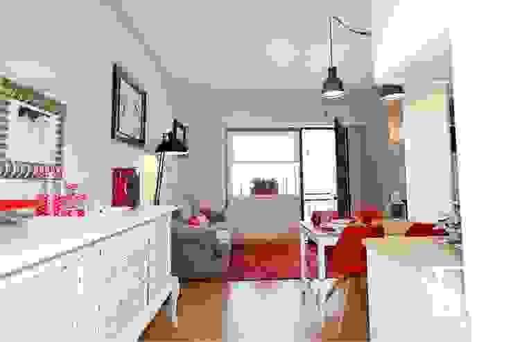 Modern Living Room by TRAÇO 8 INTERIORES Modern