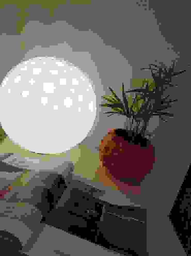 Angelo Luz + Diseño Living roomLighting Kaca White