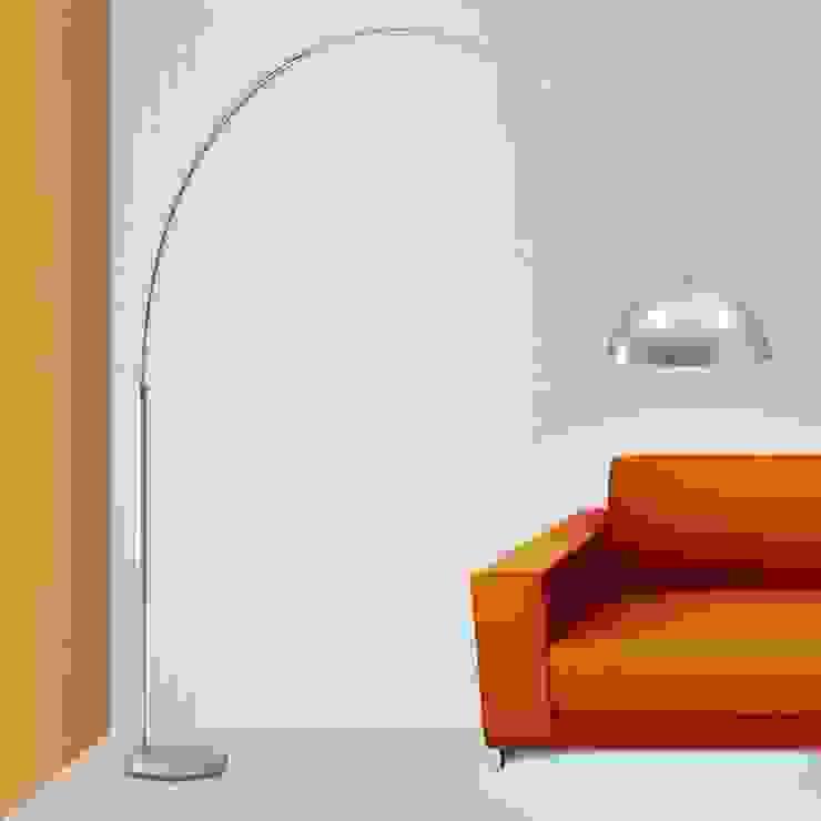 Angelo Luz + Diseño Living roomLighting Aluminium/Zinc Grey