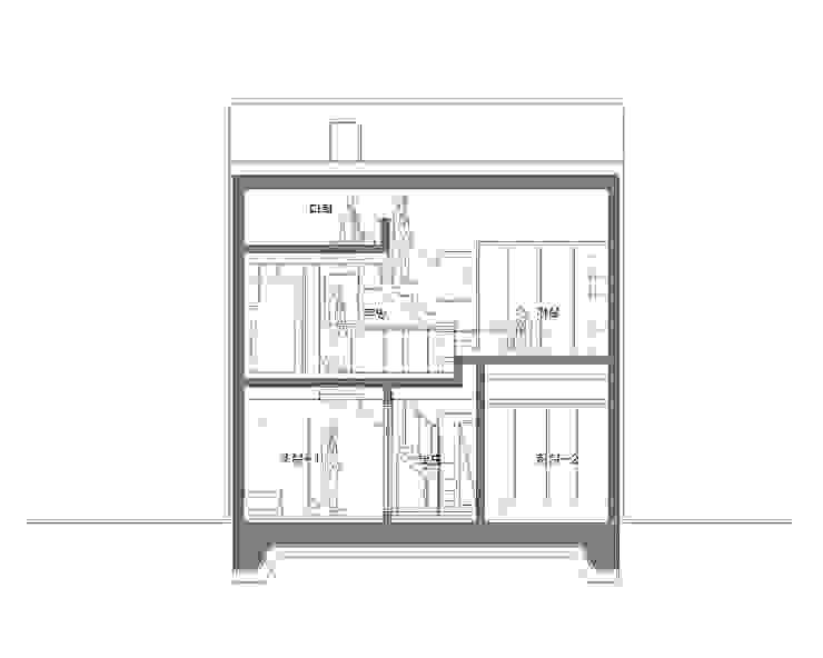 hiện đại  theo AAPA건축사사무소, Hiện đại