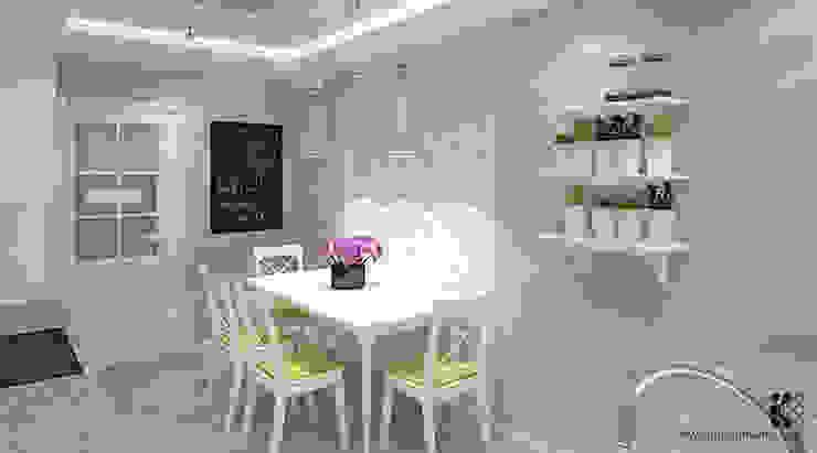 Dom w Grójcu Nowoczesna kuchnia od Klaudia Tworo Projektowanie Wnętrz Sp. z o.o. Nowoczesny