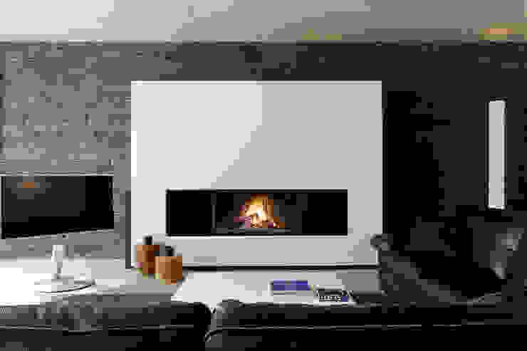 Living room by Biojaq - Comércio e Distribuição de Recuperadores de Calor Lda, Modern