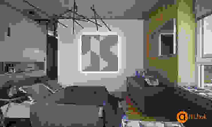 Спальни в . Автор – Art-i-Chok, Лофт