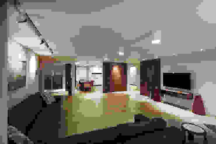 Livings de estilo moderno de Qua.D Moderno
