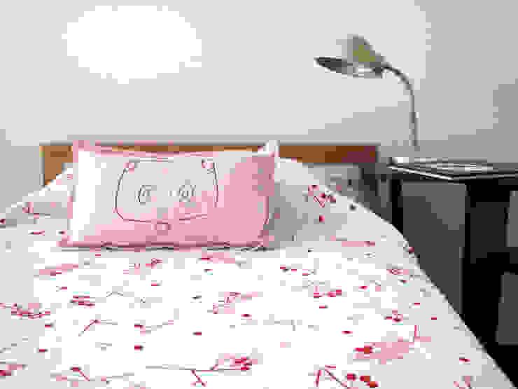 bla bla textiles BedroomTextiles Cotton Pink