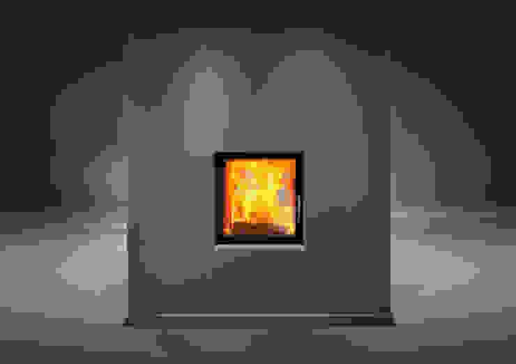Moderne Wohnzimmer von Biojaq - Comércio e Distribuição de Recuperadores de Calor Lda Modern